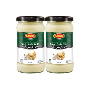 Shan Ginger Garlic Paste 2X310g