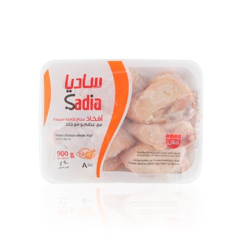 Sadia Chicken Whole Leg Bone In Skin On 900g