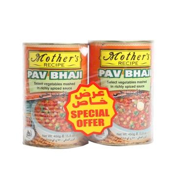 Mothers Recipe Pav Bhaji  2x450gms @ Special Price