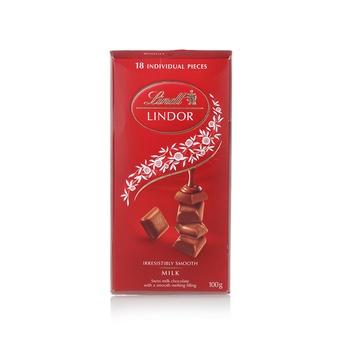 Lindt Milk Chocolate Lindor Singles 100g