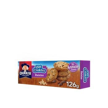 Quaker Oats Cookies Raisin 126g