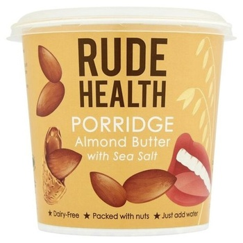 Rude Health Porridge Pot - Almond Butter & Sea Salt  50g
