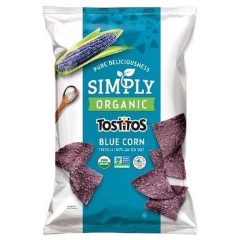 Tostitos Natural Chips Blue Corn 250g