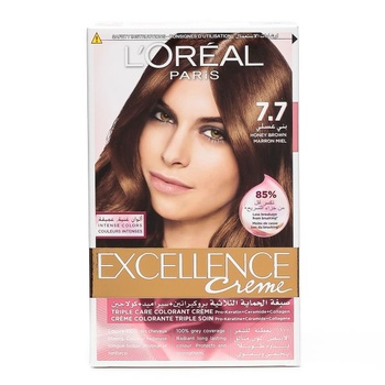 Loreal Excellence 7.7 Honey Brown