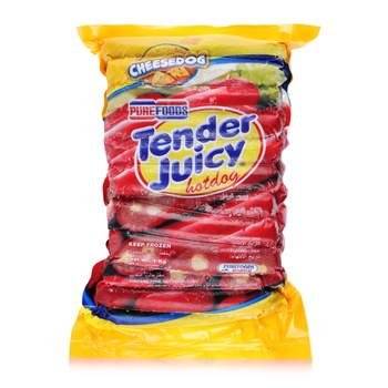 Purefoods Fz Hotdog Cheese 1 Kg