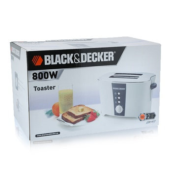 Black & Decker 2 Slice Toaster  - ET122-B5