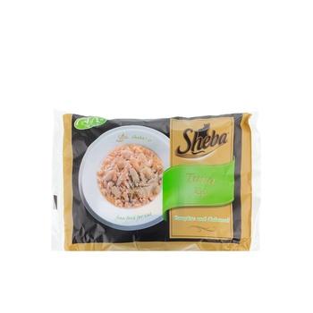 Sheba Tuna Wet Cat Food Pouch 70g x 4pack