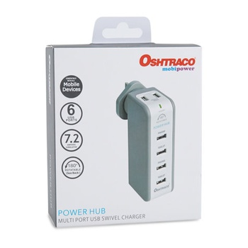 Oshtraco Multi USB Power Hub - OTC-UH1X6