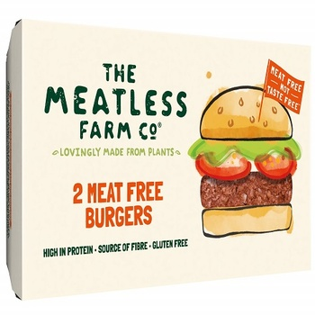 The Meatless Farm Co 2 Meat Free Burgers 227g