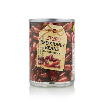Tesco Red Kidney Beans Chilli Sauce 395g