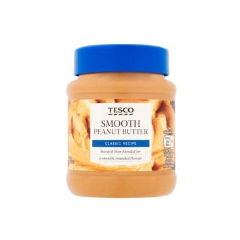 Tesco Smooth Peanut Butter 340g