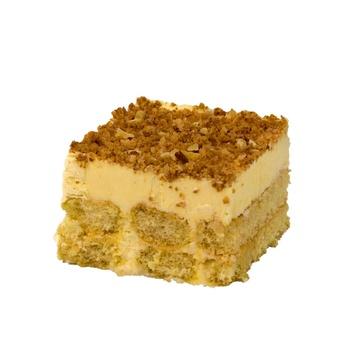 Toasted Almond Slice Cake