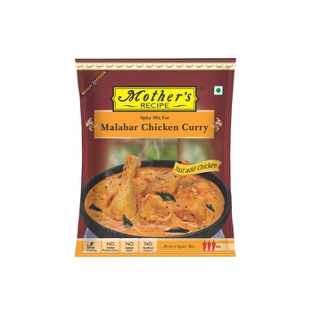 Mothers Recipe Ready To Cook Malabar Chicken Curry 100g
