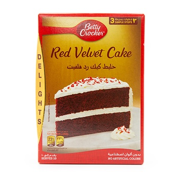 Betty Crocker Red Velvet Delight 395g