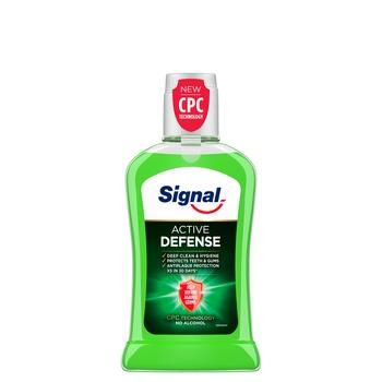 Signal Active Defense Non Alcohol Mouthwash 400ml