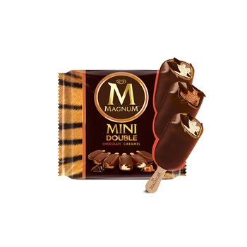 Magnum Ice Cream Mini Double Caramel 60ml Pack Of 6