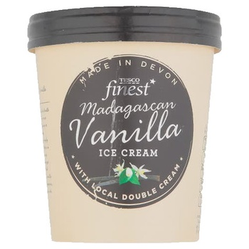 Tesco Finest Madagascan Vanilla Ice Cream 500ml