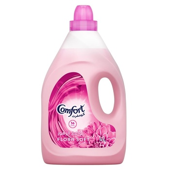 Comfort Fabric Softener Flora Soft 4ltr