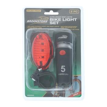 Brookstone Bike Light Set