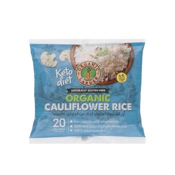 Organic Larder Organic Cauliflower Rice Gluten Free 300g