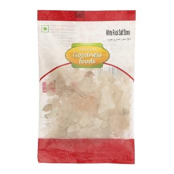 Goodness Foods White Rock Salt Stone 100g