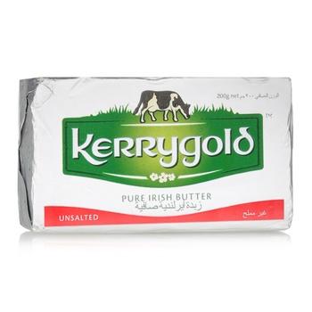 Kerry Gold Butter Unsalted 200g