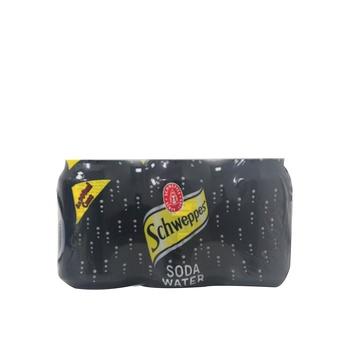 Schweppes Soda Can 6 X 330ml
