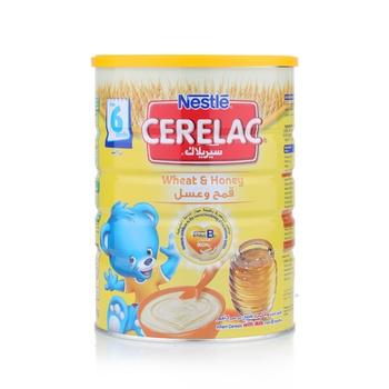 Nestle Cerelac Infant Cereal Wheat & Honey Tin Pack 1 kg