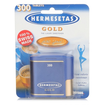 Hermesetas Gold Sweetner 300's Tablet