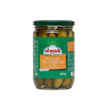 Al Wadi Pickle Cucumber In Jar 600g