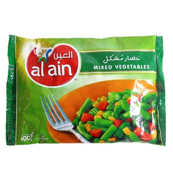 Al Ain Mixed Vegetable 400g