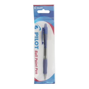 Pilot Super Grip Retractable Medium Blue Ball pen