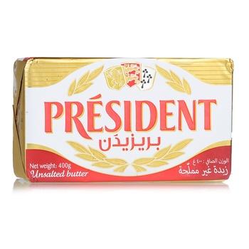 President Unsalted Butter  400g