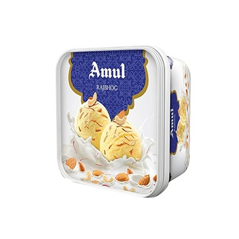 Amul Ice Cream Rajbhog 1 ltr