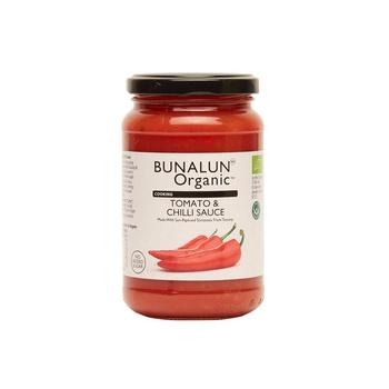 Bunalun Organic Cooking Tomato & Chilli Sauce 350g