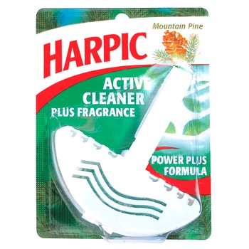 Harpic Toilet Bowl Air Freshener Mountain Pine 38g
