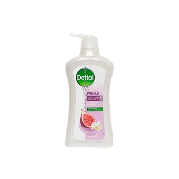 Dettol Pamper Antibacterial Body Wash Fig & Orchid 500 ml