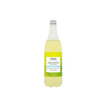 Tesco Low Calorie Soda Water With Lime 1 ltr