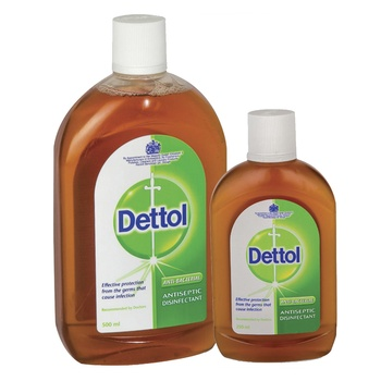 Dettol antiseptic disinfectant liquid 500ml + 125ml