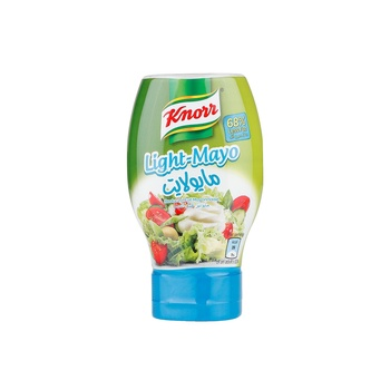 Knorr Light Mayonnaise Squeezy 295ml