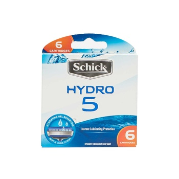 Schick Hydro 5 Easy Glide Blade 6s pack