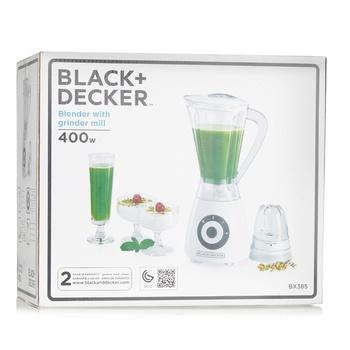 Black & Decker Blender with 1 Mill- BX385-B5