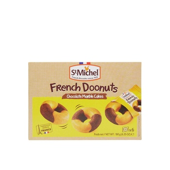 St Michel French Donut Choco Marble180g