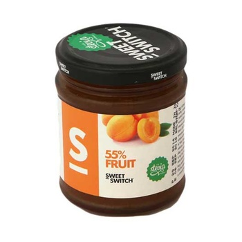 Stevia Sweet Switch 55% Fruit Apricot Spread 210g