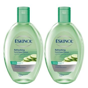 Eskinol Cucumber Facial Deep Cleanser 225ml Pack of 2