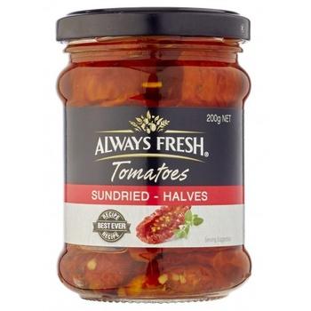 Always Fresh Sundried Tomato Halves 220g