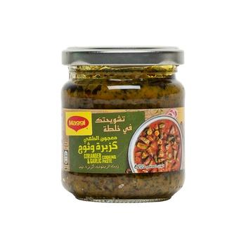 Maggi Coriander & Garlic Paste 200g