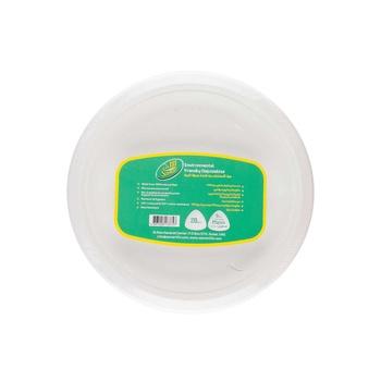 "Samar biodegradable 9"" plates 20's"