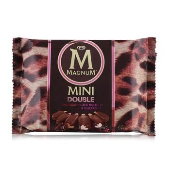 Magnum Ice Cream Mini Double Chocolate 60ml Pack Of 6