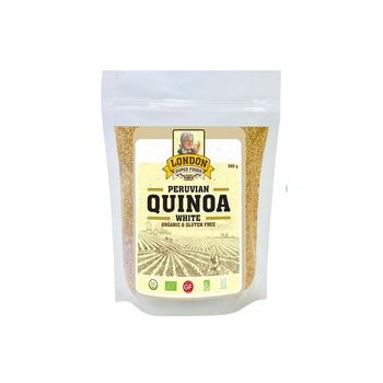 London Superfoods Organic White Quinoa Gluten Free 350g